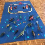 Play mat, dinosaurs