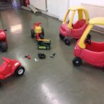 Toys and cars